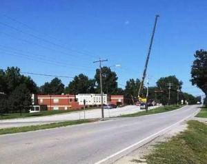 Crane at GHS 1