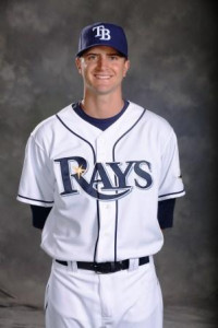 Highland native Jake Odorizzi of the Tampa Bay Rays