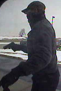 An ATM security photo taken of Gerth during the Valentine's Day robbery