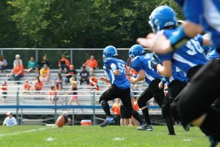 The Junior Comets in action last season