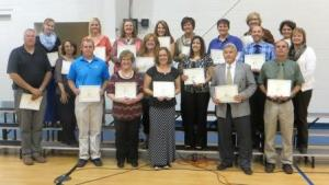 Recipients of this year's Academic Foundation grants