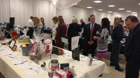 There were over 60 items up for auction Saturday night and several tables worth of silent auction items.