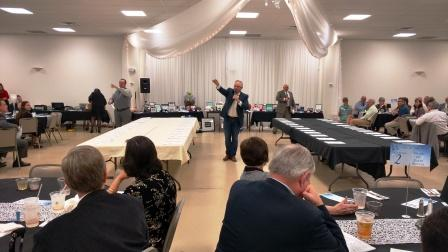 Langham Auctioneers conducted the auction Saturday night.