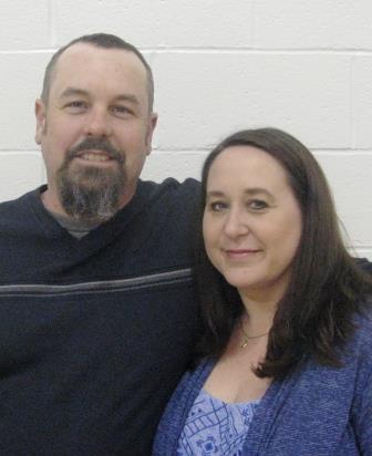 Honorary Greenville FFA Degree recipients Chris and Kim Krankel, parents of chapter reporter Brooke Krankel.