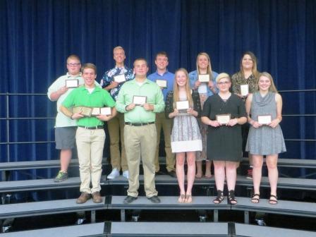 Departmental award winners