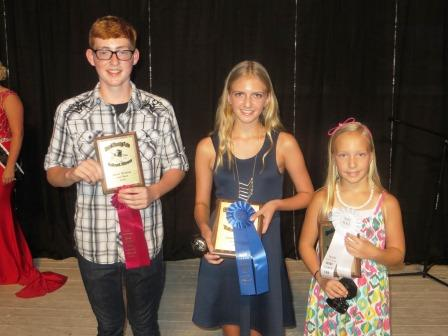 (L to R) Gabe Baxter, Haylie Gombos, and Elle Schaufelberger