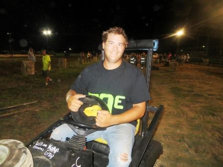 William Essenpreis of Grantfork - Lawnmower Pro-Mod Class Winner